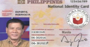Initial Recipients of the Philippine National ID?