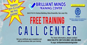 tesda-free-call-center-training